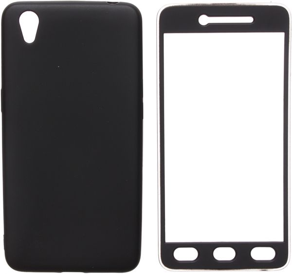 Fashion Full 360 Cover For Oppo A37, Black
