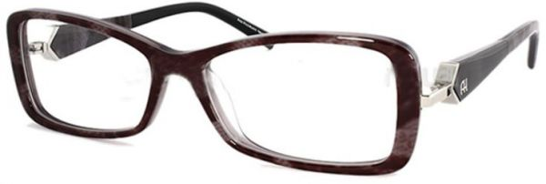 Ana Hickmann Rectangle Glass Frame for Unisex - Black   Brown   KSA ... 0fead21f00