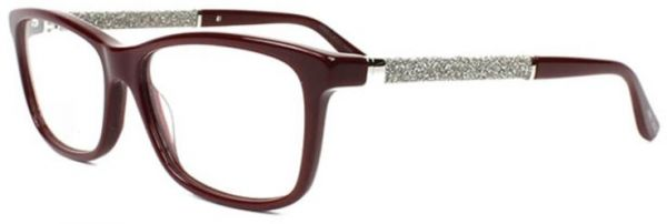 95abb91ccf4 Jimmy Choo Glasses Frame Rectangle For Women - Brown