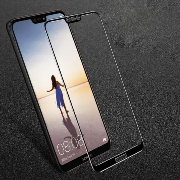 quality design 9b156 b88d4 Full Tempered Glass Screen Protector for Huawei P20 Lite, huawei Nova 3E  Black