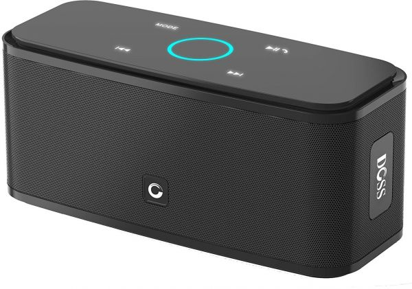 Symbol Of The Brand Wireless Bluetooth Portable Speaker With Hd Audio And Enhanced Bass Built-in Dua Consumer Electronics