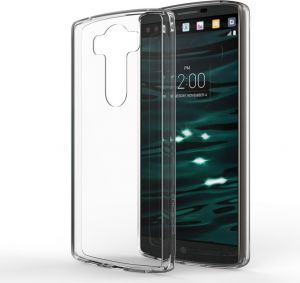 LG V10 TPU Silicone Clear Case Back Cover By Muzz
