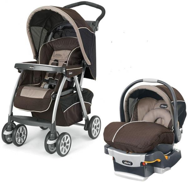 Chicco Key Fit 30 Magic Car Seat Shale Brown Cortina Stroller