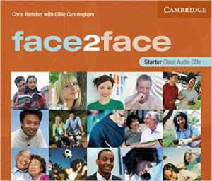 Cd-rom/audio cd book with starter students face2face