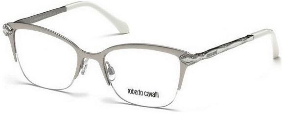 Roberto Cavalli Rc 861 Col. 024 Silver Woman Optical Frame | Souq - UAE