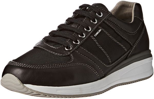 Geox Black Fashion Sneakers For Men  967a7a2d417