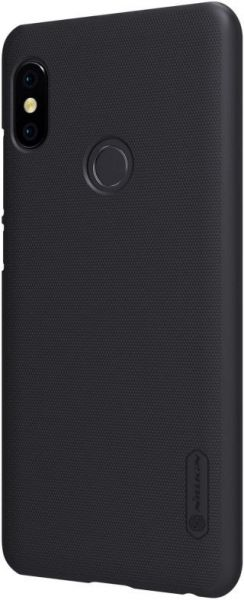 best service 11907 a3c2b Nillkin Frosted Shield Back Cover for Xiaomi Redmi Note 5 Pro With Screen  Guard - Black