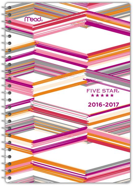 five star academic year weekly monthly planner appointment book