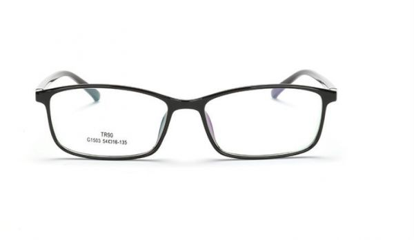 7a0fc04f840 Unisex Translucent Simple Design No Logo Clear Lens Glasses Squared Fashion  Frames
