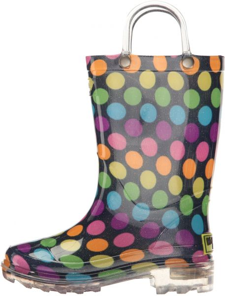 fc4d9ba22d62 Western Chief Girls Light-Up Rain Boot