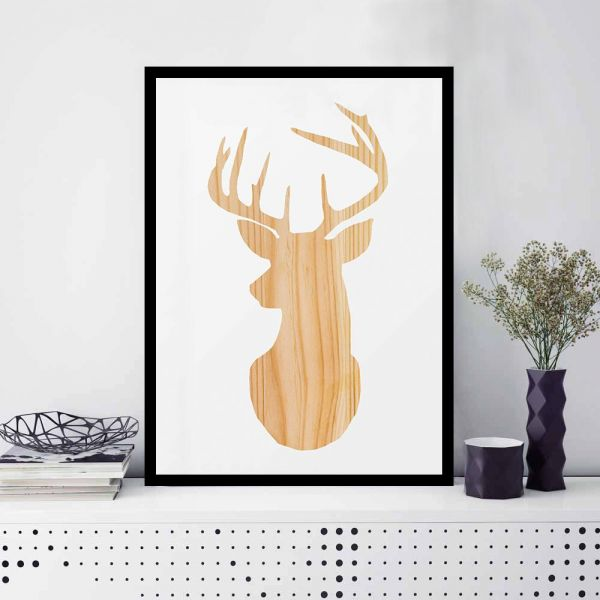 Spoil Your Wall Frames, Deer Picture Frames, Home Decor, Wall Frame