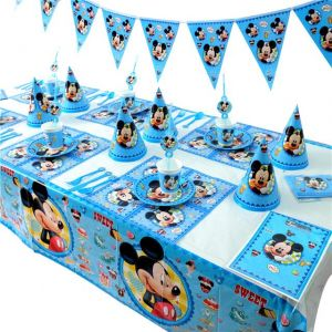 Birthday Party Decoration Mickey Mouse Pack Of 6