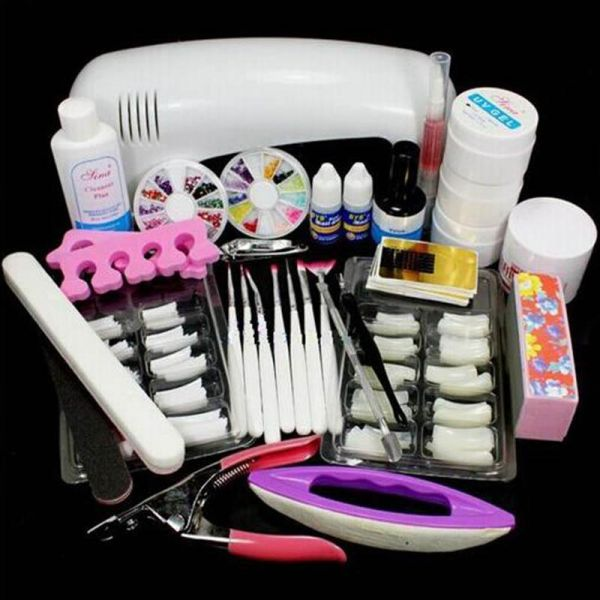 سوق | تسوق BESTPICKS Professional Manicure Tools Set, DIY Nail Art ...