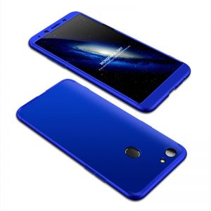 OPPO F5 /F5Youth Case, ultra Slim Gkk 360 Protection Cover Case - Blue