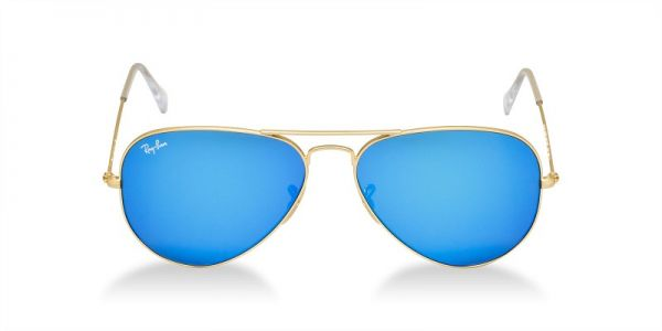 c9e45fe3d197cb Ray-Ban Aviator Flash Lenses Unisex Sunglasses - RB3025 112 17 58-14   Souq  - UAE