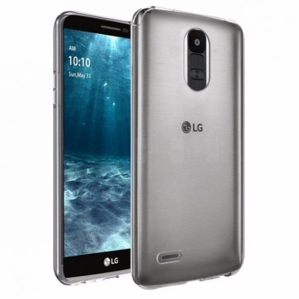 40aa65e8f LG K10 PRO (STYLUS 3) TPU Silicone Clear Case Back Cover By Muzz ...