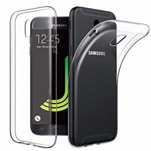 Samsung Galaxy (J530) 2017 J5 PRO TPU Silicone Clear Case Back Cover By Muzz