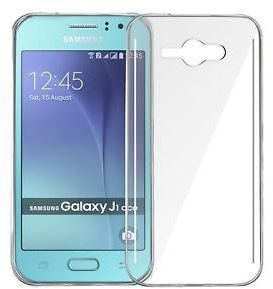 Samsung Galaxy J1 Ace TPU Silicone Clear Case Back Cover By Muzz