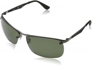 9eef753d996 Ray-Ban Men s Metal Man Polarized Square Sunglasses