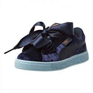 Puma Basket Heart Velour PS Sneaker For Kids 2c32c0186