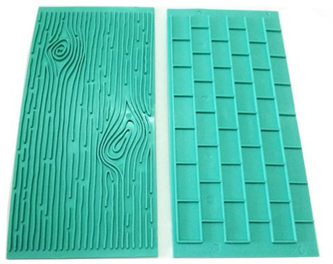 Other Baking Accessories Kitchen, Dining & Bar Cake Mold Tree Bark Brick Wall Texture Mold Impression Moulds