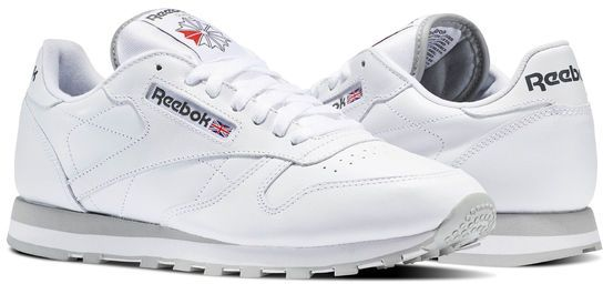 3ab63a1993d0 Reebok Cl Lthr Walking Athletic Shoes For Men - White