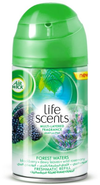 Air Wick Air Freshener Life Scents Forest Waters Refill 250ml