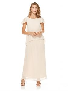 4958a17fea0 Mela London Overlay Maxi Dress For Women - Blush