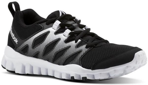 Reebok Realflex Train 4.0 Training Athletic Shoes For Women - Black   White   9e4783cdc4f