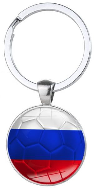 06e291604fc Russia-World Cup Football Keychain Flag Logo Soccer Club Fans ...