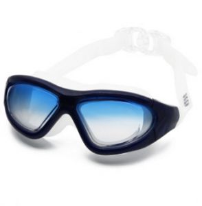 068475a5e18 Swimming Goggles Anti Fog No Leaking UV Protection Premium Comfort Waterproof  Swim Glasses Nose Clips for Men Women Adult Youth Gradient Blue