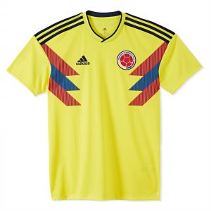 e071a55f346 adidas FCF Colombia 2018 Home Jersey For Men
