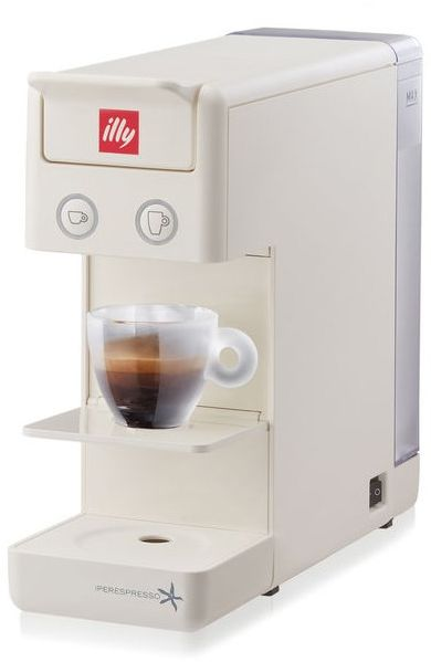 2f81f738935f5 Illy Y3.2 iperEspresso Espresso and Coffee Machine - White