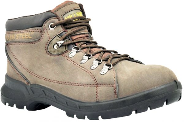 3e29a280a63 Miller Leather Safety Shoes (Mil-MHR)