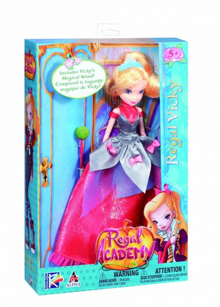 Regal Academy Deluxe Vicky Fashion Doll in Regal Gown  b4aee9e526522