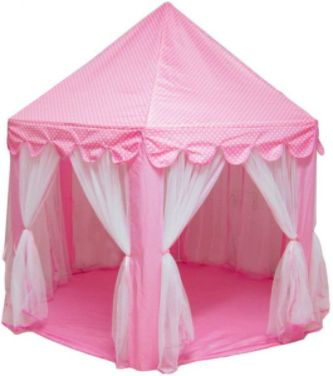 Six Angle Pink Princess Castle Gauze Tent House Girl Children Large Indoor Outdoor Toy Game House Kids Ball Play Tents | Souq - UAE  sc 1 st  Souq.com & Six Angle Pink Princess Castle Gauze Tent House Girl Children Large ...