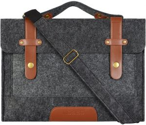 42d2acfe4d Mosiso Felt Laptop Shoulder Bag for 13-13.3 inch MacBook Pro