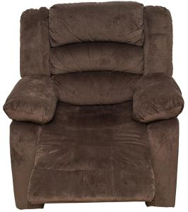 Zoy Single Seater Recliner Sofa Chocolate Color Souq Uae