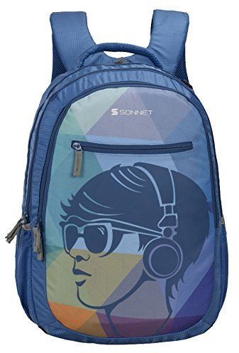 Sonnet School Bag Explore- Ff 37 Liter Dark Navy Blue College Bag ... 06e6432822