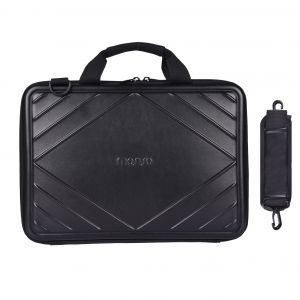 0e39e330b5d MOSISO EVA with Premium PU Leather Hard Shell Laptop Shoulder Bag for  13-13.3 Inch MacBook Pro