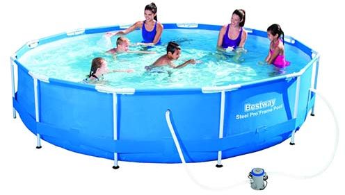 Bestway Sirocco Above Ground Swimming Pool - 56416