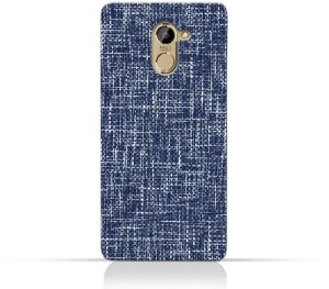 AMC Design Infinix Hot 4 X557 TPU Silicone Case with Brushed Chambray Pattern