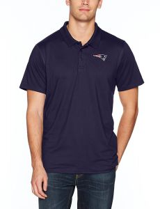 7f66bc5d4 NFL New England Patriots Men s OTS Sueded Short Sleeve Polo Shirt