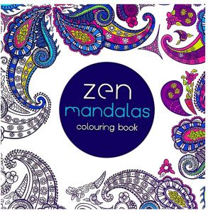 Coloring Mandalas Book Books For Adults Kids Antistress Secret Garden Quiet Color Drawing 185 185cm 24Pages