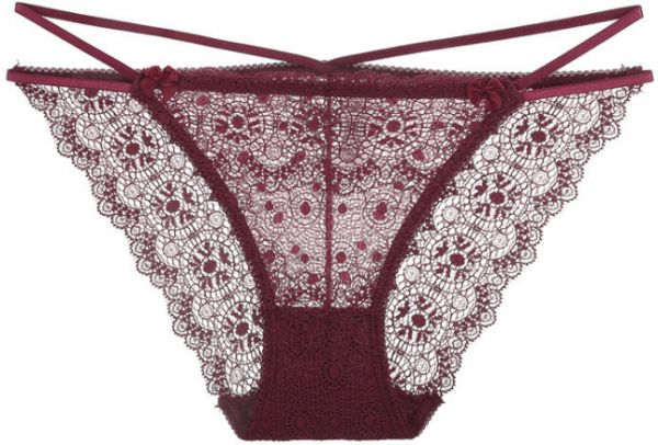 f797525774b Lace girl underwear waistband with hollow features lace pants low ...
