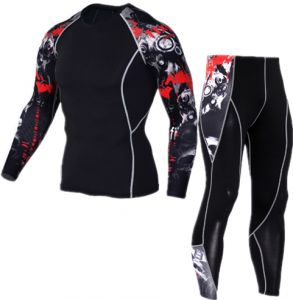 5b0e8cbeb Sport cycling jersey bike long sleeve T-shirt shorts suit quick dry mens  cycling wear fitness sportwear