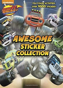 Blaze And The Monster Machines Awesome Sticker Collection