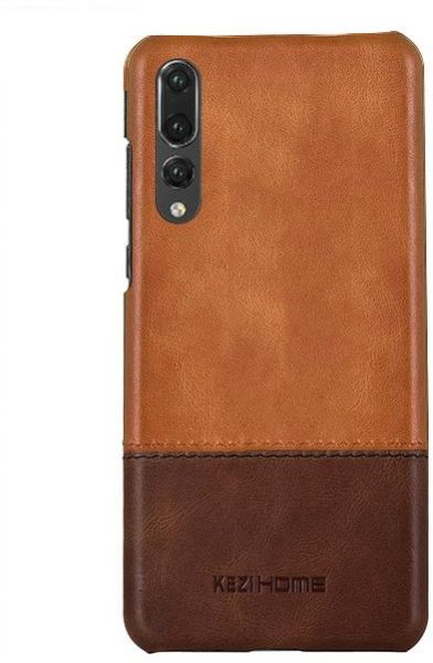 pretty nice 35f1d 0bf85 Huawei P20 Pro Kezihome Leather Case Cover - Light Brown
