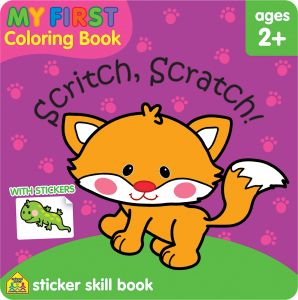 My First Coloring Book Scritch Scratch