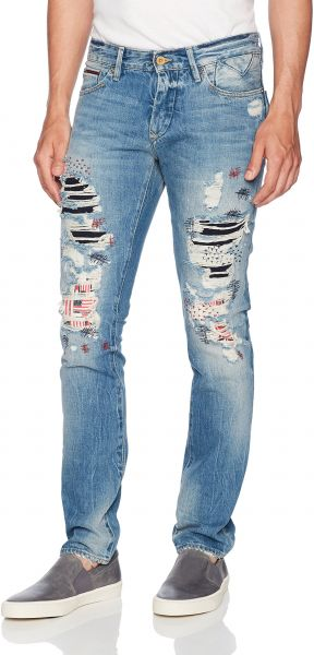 a10d6abb511 Tommy Hilfiger Denim Men s Jeans Original Scanton Slim Fit Jean ...
